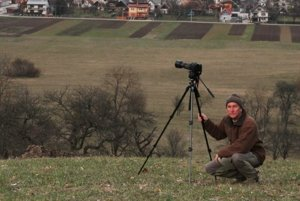 Autoportrét autora fotografií.