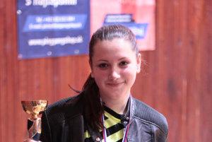 Bronzová Lucia Gašparíková