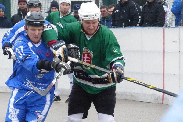 Ilustračné foto zo zápasu Skalica - Martin v základnej časti.