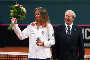 Hantuchová si k 34. narodeninám najviac želala triumf nad Holandskom.
