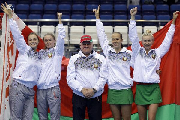 Bielorusko oslavuje historický postup do finále.
