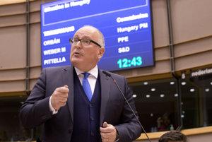 Eurokomisár vyvracal tvrdenia z dotazníka, ktorý maďarská vláda poslala voličom