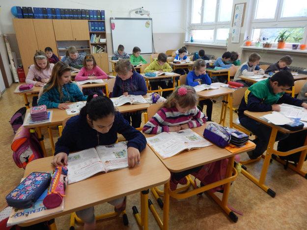 V triede.