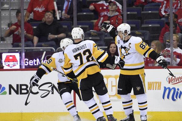 Pittsburgh vedie nad Washingtonom 1:0 na zápasy.