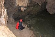 V Brestovskej jaskyni.