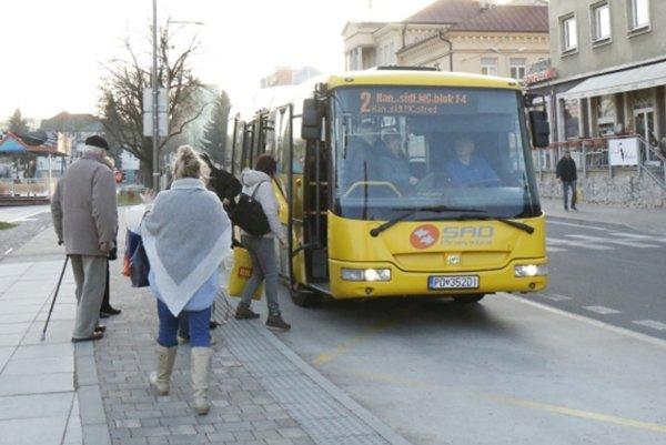 Ilustračné foto MHD v Handlovej.