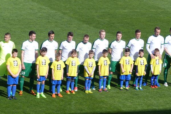 MFK Skalica pred finálovým stretnutím.