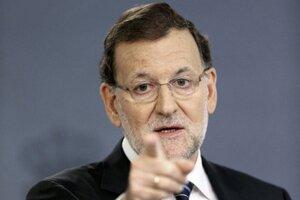 Španielsky premiér Rajoy.