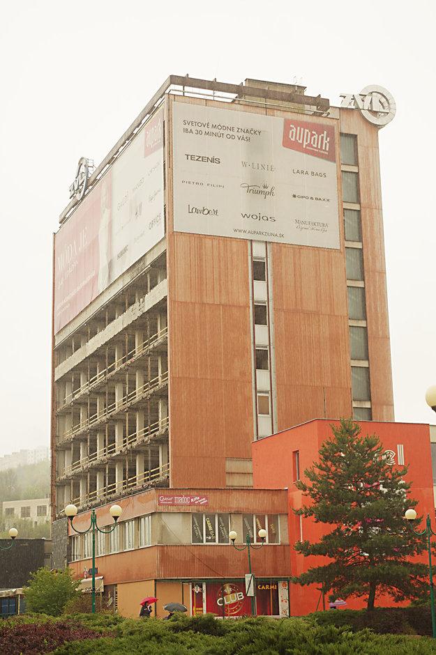 Budova Diamonu sa tiež mení.