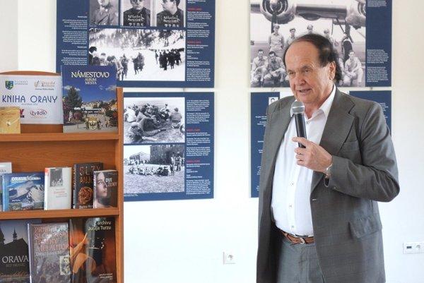 Peter Huba, autor víťaznej knihy v kategórii odborná literatúra.
