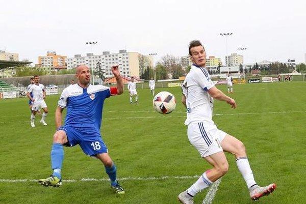 Jukub Šašinka strelil Rimavskej Sobote dva góly.