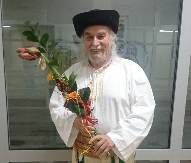 Oslávenec Pavol Kužma.