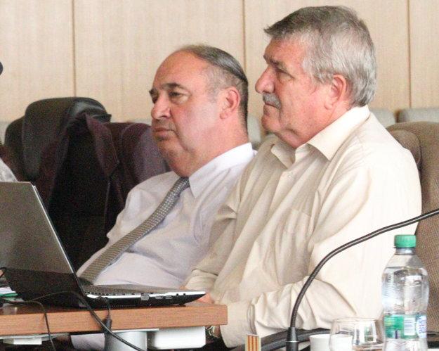 Zoltán Horváth (vľavo) už nie je konateľom Byspravu.