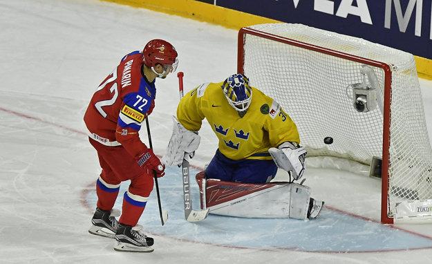 Artemij Panarin je zatiaľ najproduktívnejším hráčom šampionátu.