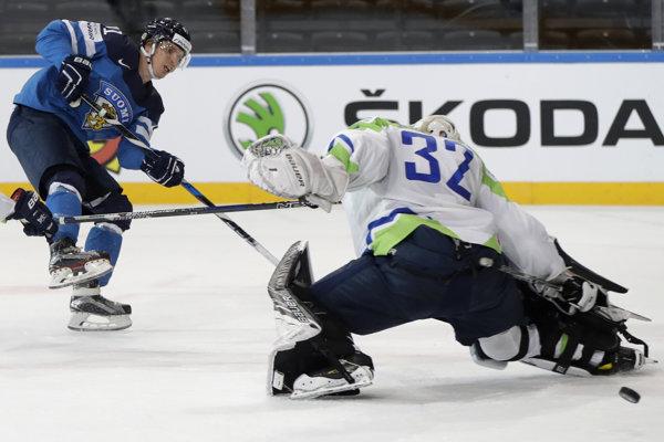 Fíni nepripustili prekvapenie, Slovinsko porazili 5:2.