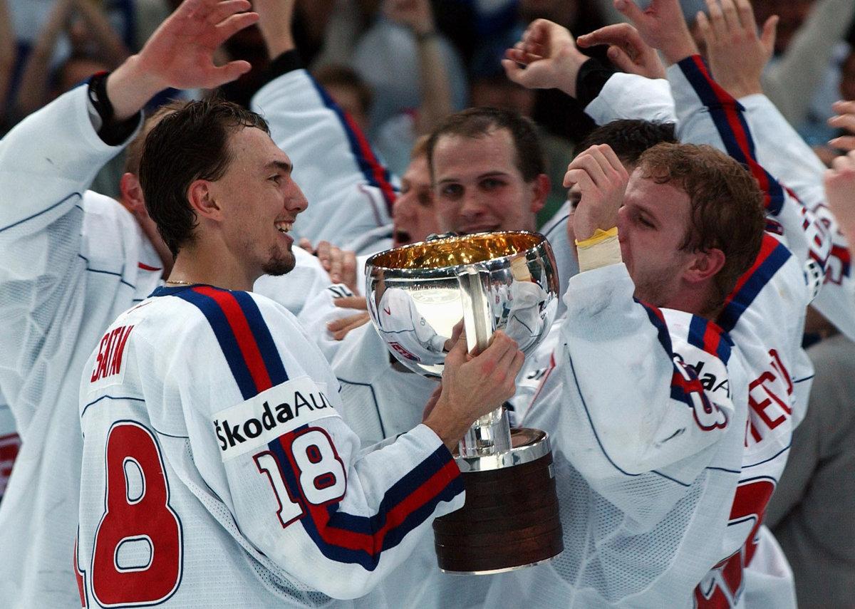 Od víťazstva na MS v hokeji 2002 uplynulo pätnásť rokov ...