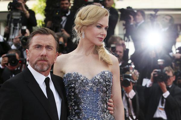 najväčšou hviezdou tohtoročného festivalu v Cannes je Nicole Kidman (na snímke s Timom Rothom), v programe má štyri filmy.