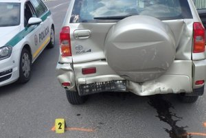 Pri nehode vznikla škoda za 10-tisíc eur.