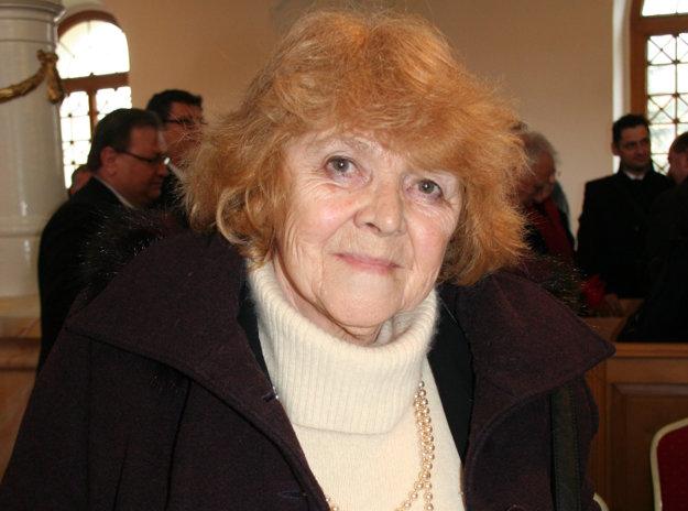 Janka Krivošová.