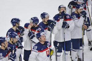 Hokejisti Slovenska opäť smútili.