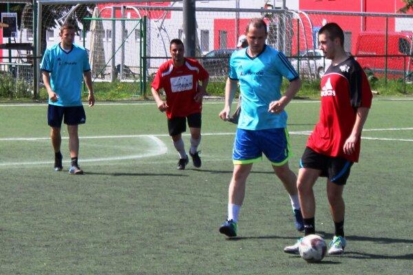 Z prvoligového zápasu L-Trade - Euroteam