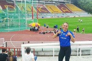 Simona Takácsová má vo vrecku limit na ME do 19 rokov, ktoré budú 20.-23. júla v talianskom Grossete.