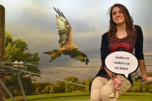 Výkonná riaditeľka organizácie Ochrana dravcov na Slovensku Lucia Deutschová.