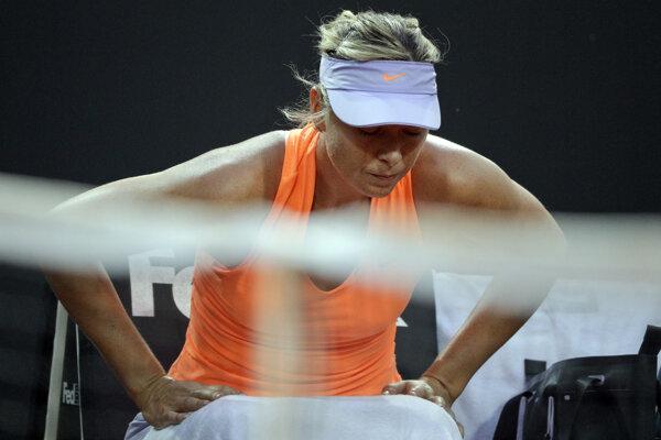 Maria Šarapovová má zdravotné problémy.