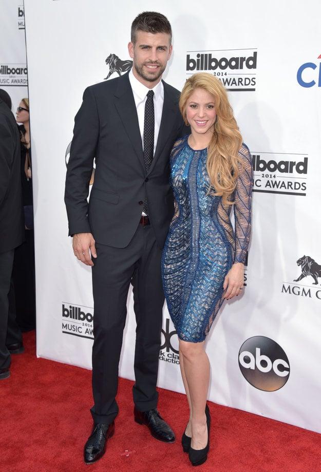 Shakira a Gerard Piqué
