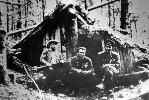 Základňa Matúšová v čase SNP.