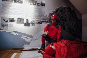 Slovenské múzeum ochrany prírody a jaskyniarstva v Liptovskom Mikuláši. Expozícia zameraná na hory a život v nich.