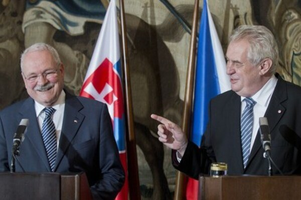 Gašparovič a Zeman.