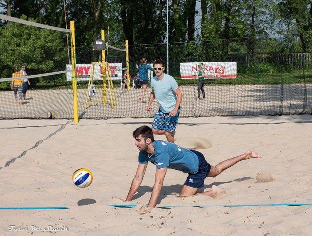 Mužský turnaj vyhrala dvojica Marek Ludha - Tomáš Hollý.