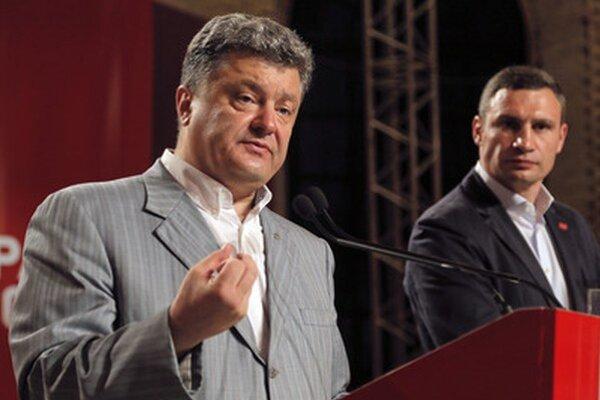 Porošenko a Kličko.