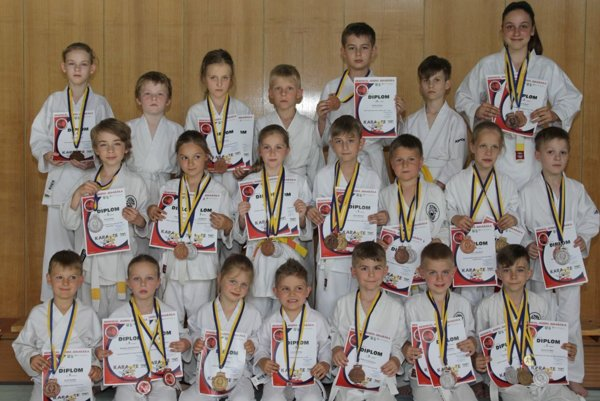 Karate klub Kumade Topoľčany.
