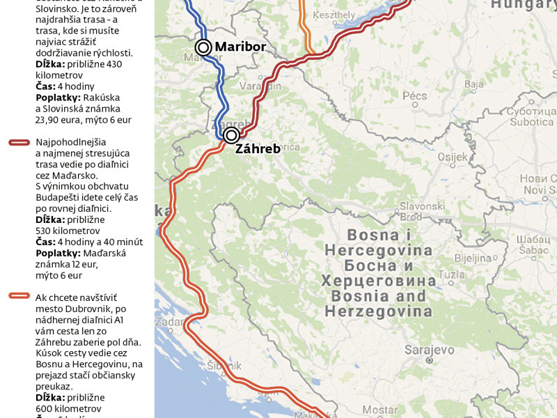 Cesta Autom Do Chorvatska 2019 Auto Sme