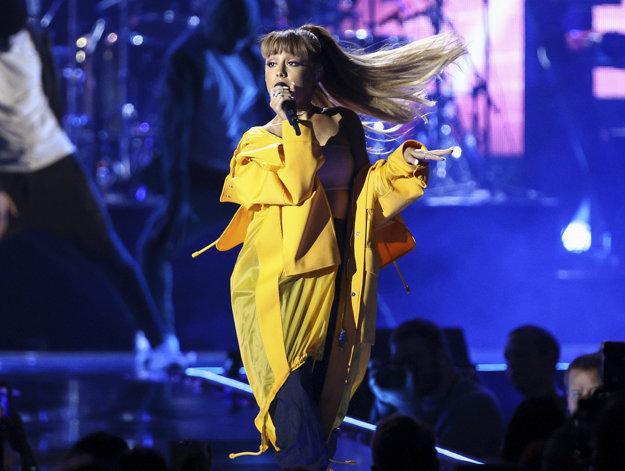 Speváčka Ariana Grande