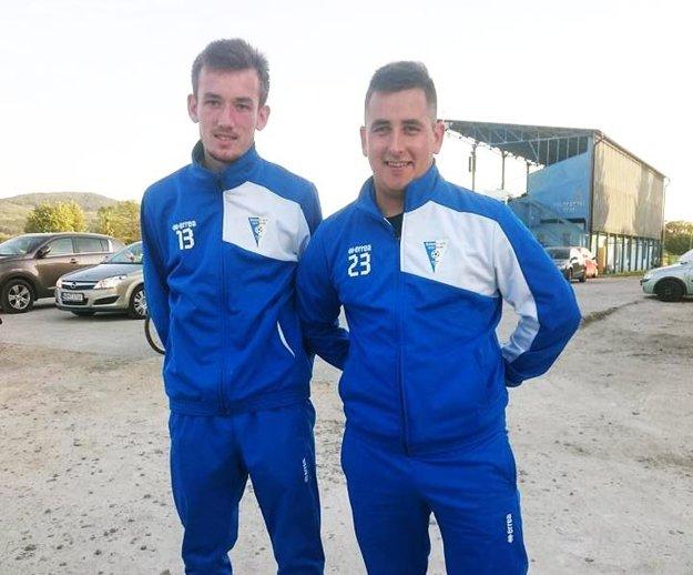 Šimon Mego a Anton Bábik boli autormi gólov za Veľké Zálužie v Solčanoch.
