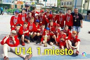 Majstri SR v hokejbale v kategórii U14
