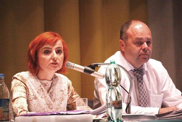 V orgánoch akciovej spoločnosti primátorka nahradila svojho zástupcu Ľuboša Maxinu minulý rok.
