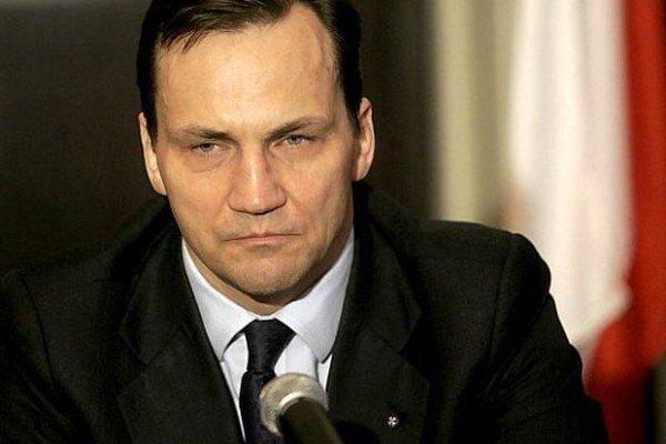 Poľský minister zahraničných vecí Radek Sikorski.