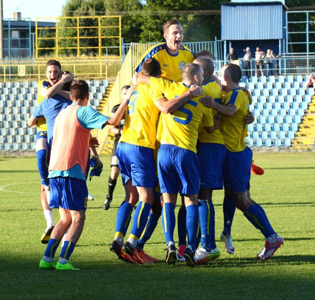 Dobojované. VSS Košice práve spečatili prvé miesto vdruhej lige.