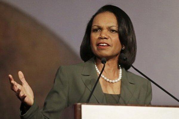 Condoleezza Riceová.