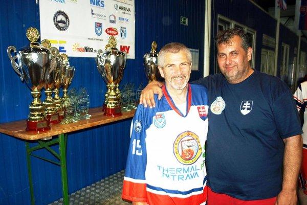Hlavní organizátori turnaja - Miloš Dovičovič a Juraj Bubák.