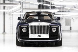 Rolls-Royce Bespoke Sweptail.