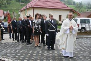 Hasiči zHorného Vadičova oslávili svojho patróna.