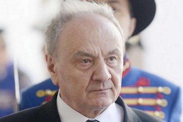 Prezident Moldavskej republiky Nicolae Timofti.