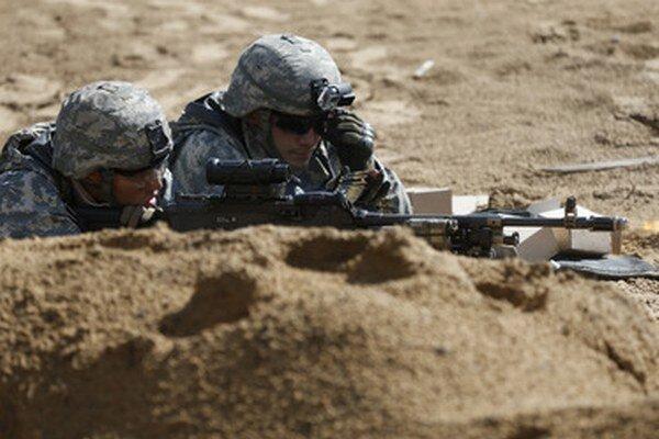 Americkí vojaci na cvičení v Litve.