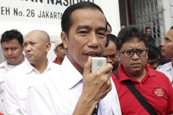 Starosta Jakarty Joko Widodo, prezývaný Jokowi, chce byť indonézskym prezidentom.