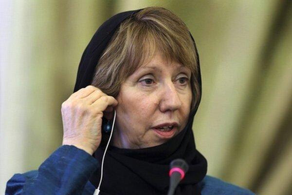 Ashtonová v Iráne.